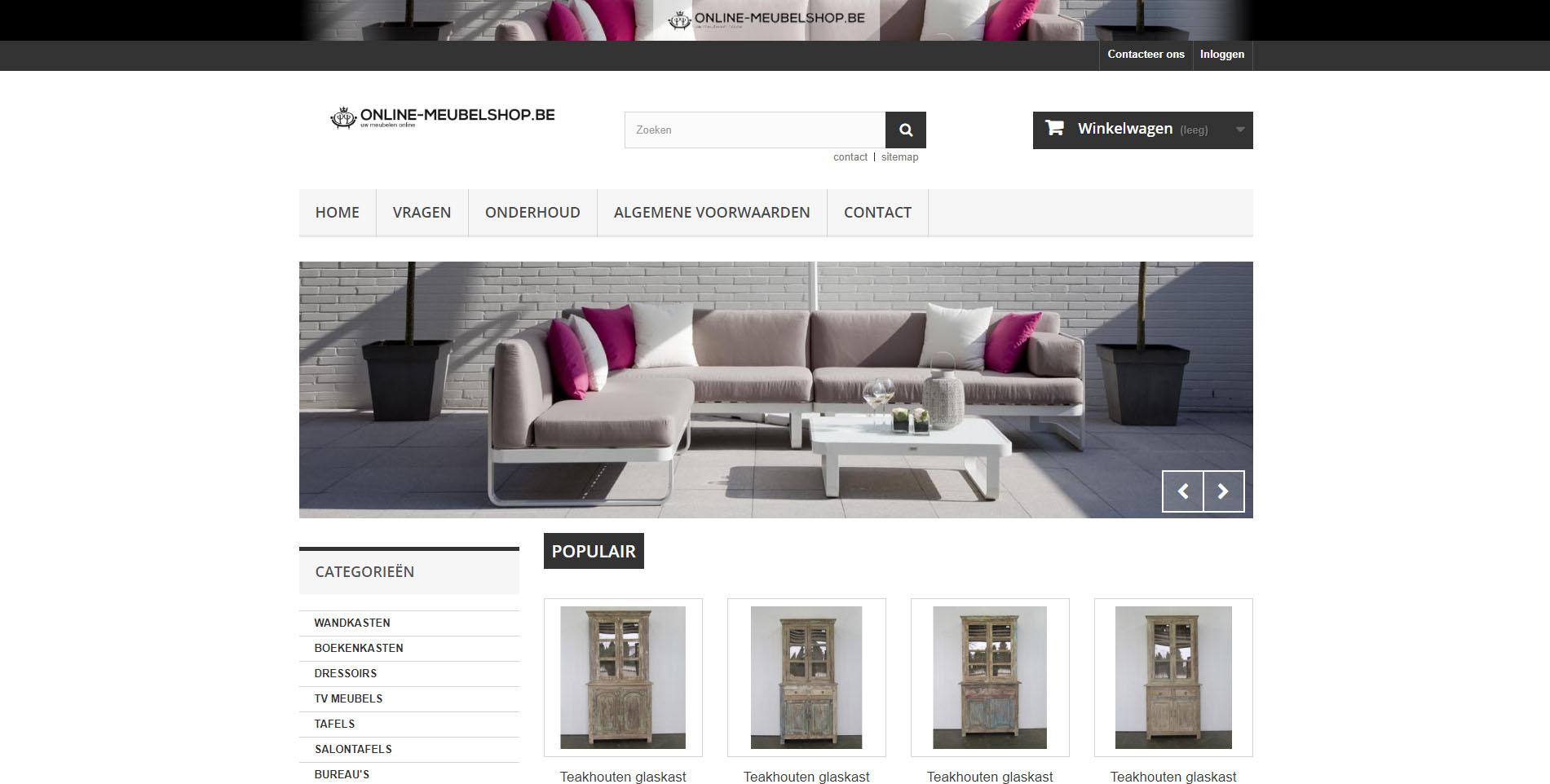 Online meubelshop